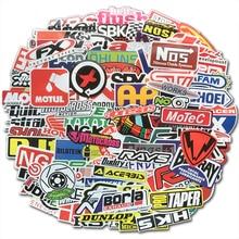 100 шт гоночный автомобиль наклейки граффити комплектации модификации водонепроницаемый наклейка для велосипеда мотоцикла шлем мотоциклетный чемодан ноутбук