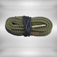 Hunting Bore Snake gun cleaning .38 Cal GA Gauge Boresnake Shotgun Barrel Bronze Cleaner Kit
