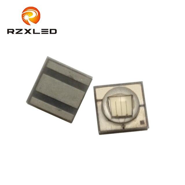 10 pièces/lot LED 3V 3W 3535 paquet vert foncé 490NM 495NM 500NM 505NM SMD Diode pour feu de signalisation