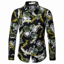 Mens Hawaiian Shirt Male Casual Camisa Masculina Printed Beach Shirts Holiday Vacation Men Clothing 2019 Plus Size Floral