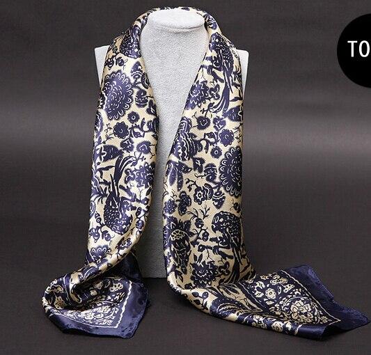 Под платок женщины 2015 шарф атласная большой площади шарф 90*90 см Элегантный стиль шелковый шарф D-061