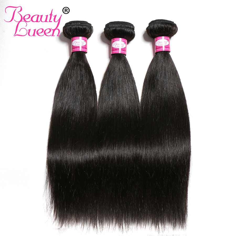 Straight Hair Bundles Brazilian Hair Weave Bundles 3 Bundles Deals Human Hair Bundles NonRemy Beauty Lueen