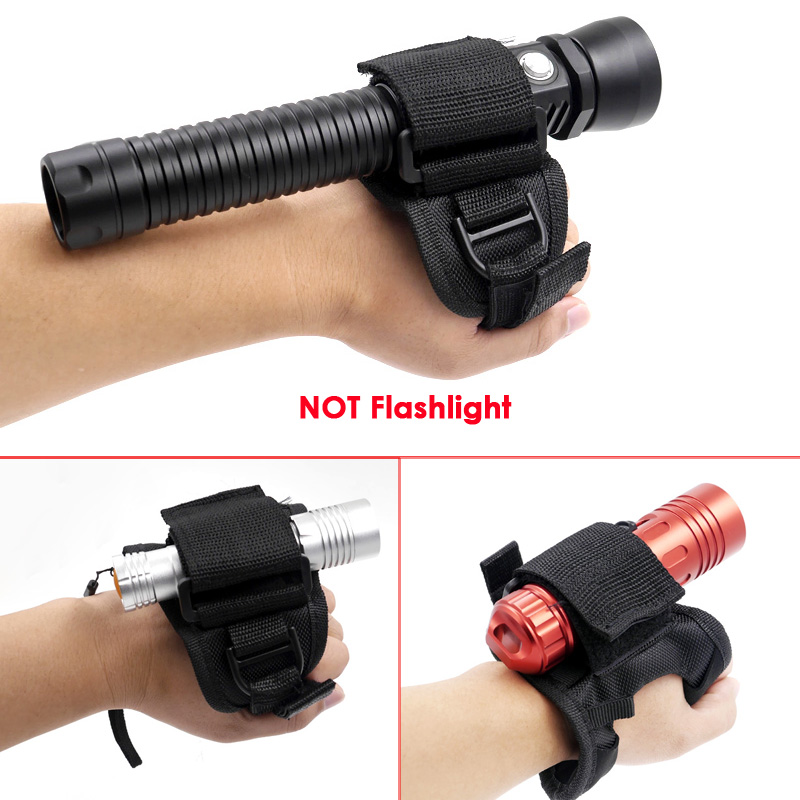 Expressive Soft Handmount Premium Quality Soft 'goodman' Style Glove For Handheld Dive Lights Mount Hand Hloder Armhand Holster Light Pouch