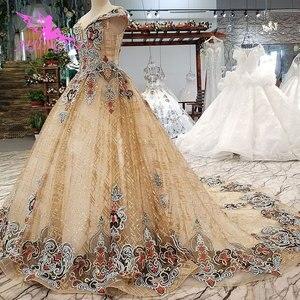 Image 5 - Aijingyu 웨딩 드레스 스페인 가운 플러스 bridle 고딕 통관 신부 및 가격 가운 웨딩 긴 소매 진짜 사진
