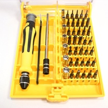 Screwdriver Set 45 in 1 Precision Torx Screw Driver Tweezers Mobile Kit Repair Tool  For iPhone Cellphone Tablet PC