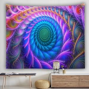 Image 5 - Tapiz de pared bohemio colgante Casa de hongo enorme fairyland psicodélico tapestriws decoración del hogar