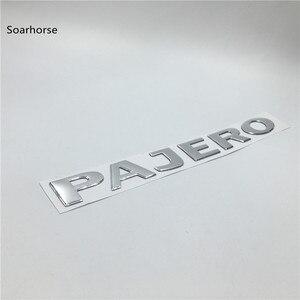 Image 3 - Soarhorse 三菱パジェロゴールド 3D 手紙リアーブーツトランクテールゲートエンブレム銘板車の accessroies