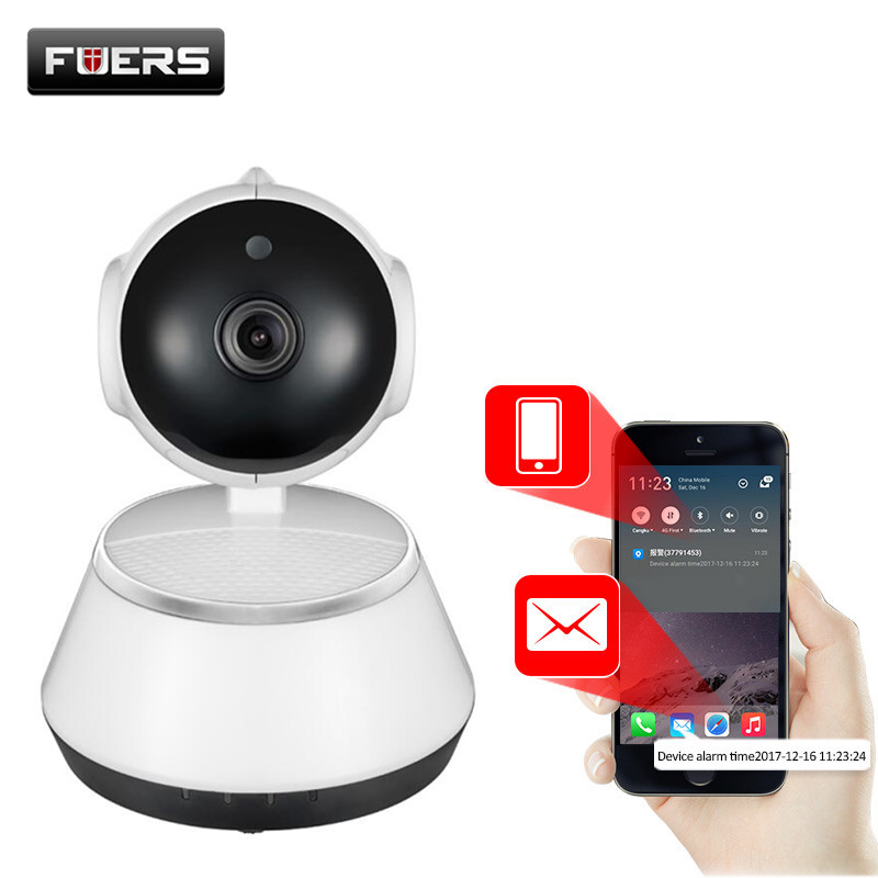 Fuers 720P IP Camera Wi-Fi Wireless Surveillance Camera P2P CCTV Wifi Ip Camera Free APP V380 Home Security Cam Baby Monitor dental lab marathon handpiece 35k rpm electric micromotor polishing drill burs