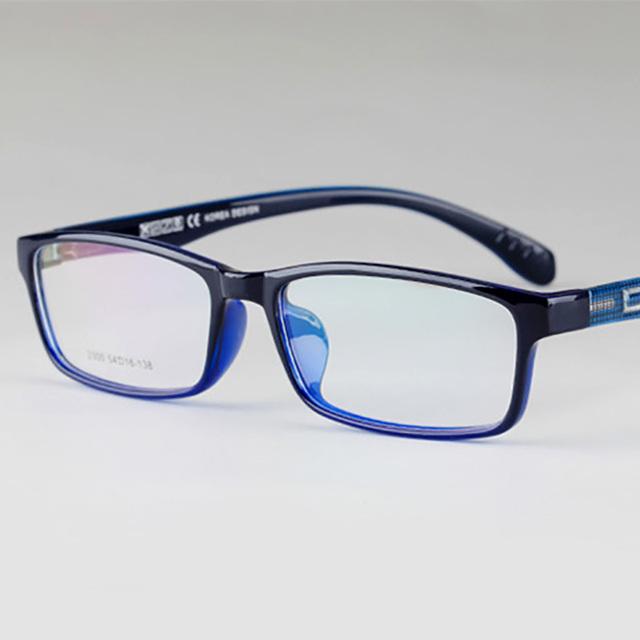 Toptical Óculos TR90 Ultra-leve Full Frame Óculos Quadrados Miopia Simples Óculos Masculinos Mulheres de Design Da Marca