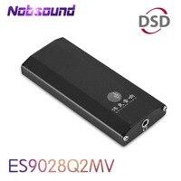 Nobsound Mini DAC ES9028Q2M SE4 Tragbare Verstärker DSD HiFi Audio USB Decoder für PC und Telefon Mit Kopfhörer Jack|Verstärker|   -