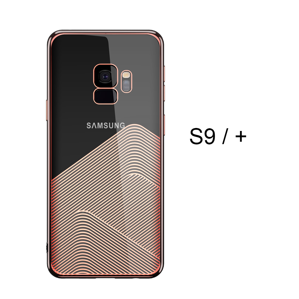3D Laser carving TPU Case For Samsung Galaxy S9 / S9 Plus