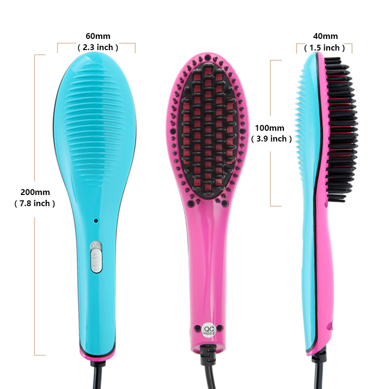 Fast Hair Straightener Combs Electric Professional Hair Straightener Brush Straightening Irons Comb Iron Styling Tool Hair Brush electric digital hair straightening irons professional fast ceramic hair straightener brush comb styling tools escova alisador