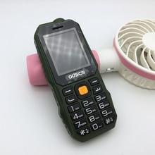Odcsn T320 мобильный телефон с двумя сим Камера MP3 противоударный пылезащитный Прочный Спортивный 1.8 дюймов дешевые мобильные телефоны