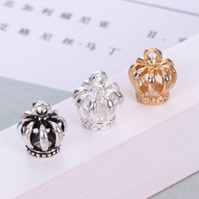 Zinc Alloy Accessories Crown Diy Dropping Ancient Silver Popular New Products