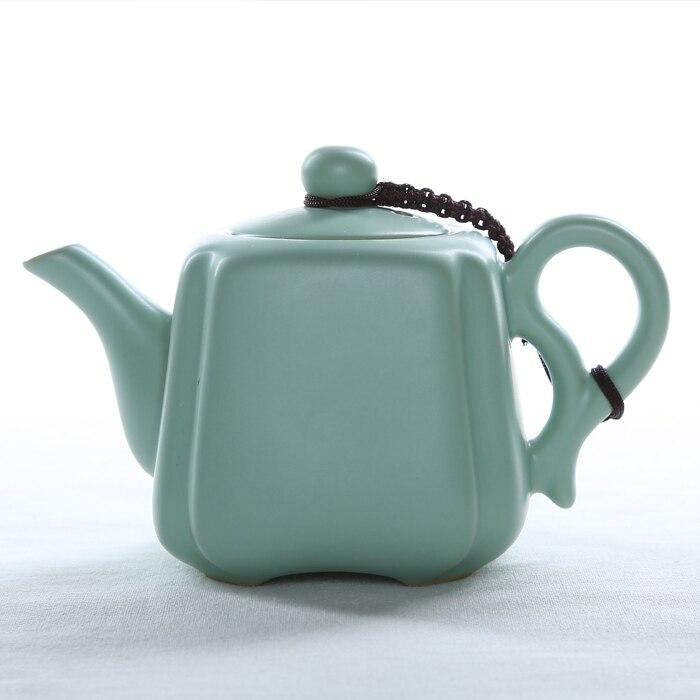 Celadon xi shi pot single pot ru handmade kung fu tea ceramic kettle pot