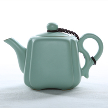 Celadon xi shi pot single pot ru handmade kung fu tea ceramic kettle pot все цены