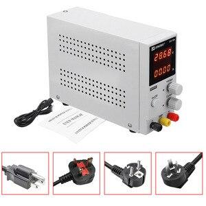 Image 3 - LW 3010D laboratorium regulowany zasilacz DC 30V 10A 4 cyfrowy wyświetlacz regulowany zasilacz impulsowy laptop telefon naprawy