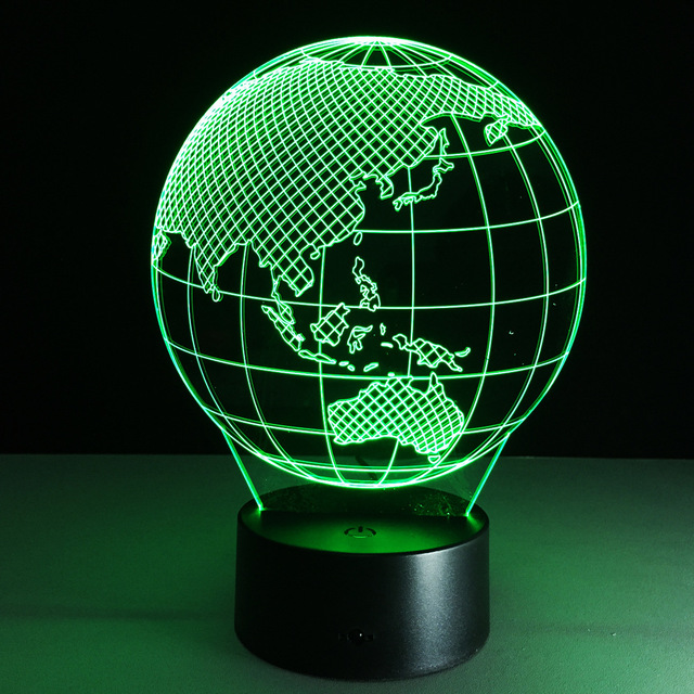 2017 oceania map earth globe 3d lamp led colorful touch visual 2017 oceania map earth globe 3d lamp led colorful touch visual lights table gift gx065 gumiabroncs Images