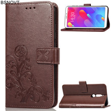 For Meizu M8 Lite Case Soft Silicone Leather Wallet Dirt-resistant Phone Bag Cover V8 Pro