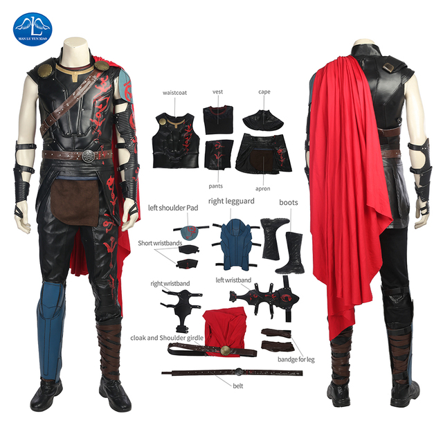 thor ragnarok thor kost m film superhelden cosplay. Black Bedroom Furniture Sets. Home Design Ideas