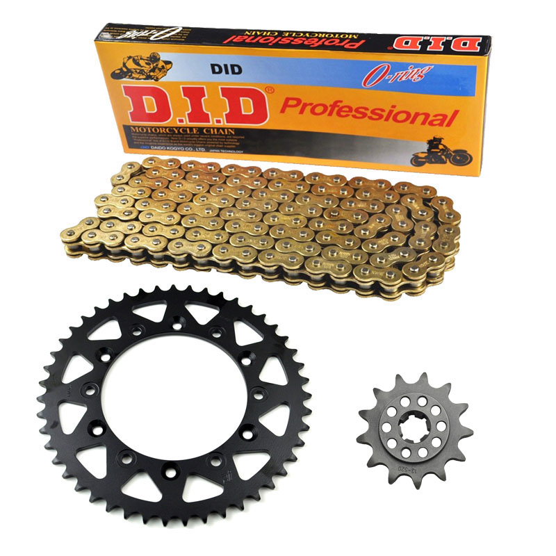 Motorcycle 520 Chain Front 13T & Rear 49T Sprocket Kit Set For Yamaha TTR230 T,V,W,X,Y,Z,A,B,D,E,F,G 1C6  2005-2016  New цена 2016