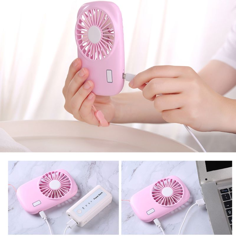 Image 5 - Mini Hand Held USB Fan Creative Camera Shape Portable Low Noise Fan for Office, dormitory and Outdoor Travel-in USB Gadgets from Computer & Office