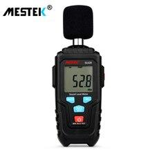 MESTEK децибел измеритель уровня звука регистратор 30-135дб Измерение шума Измеритель Уровня Звука детектор диагностический инструмент SL620