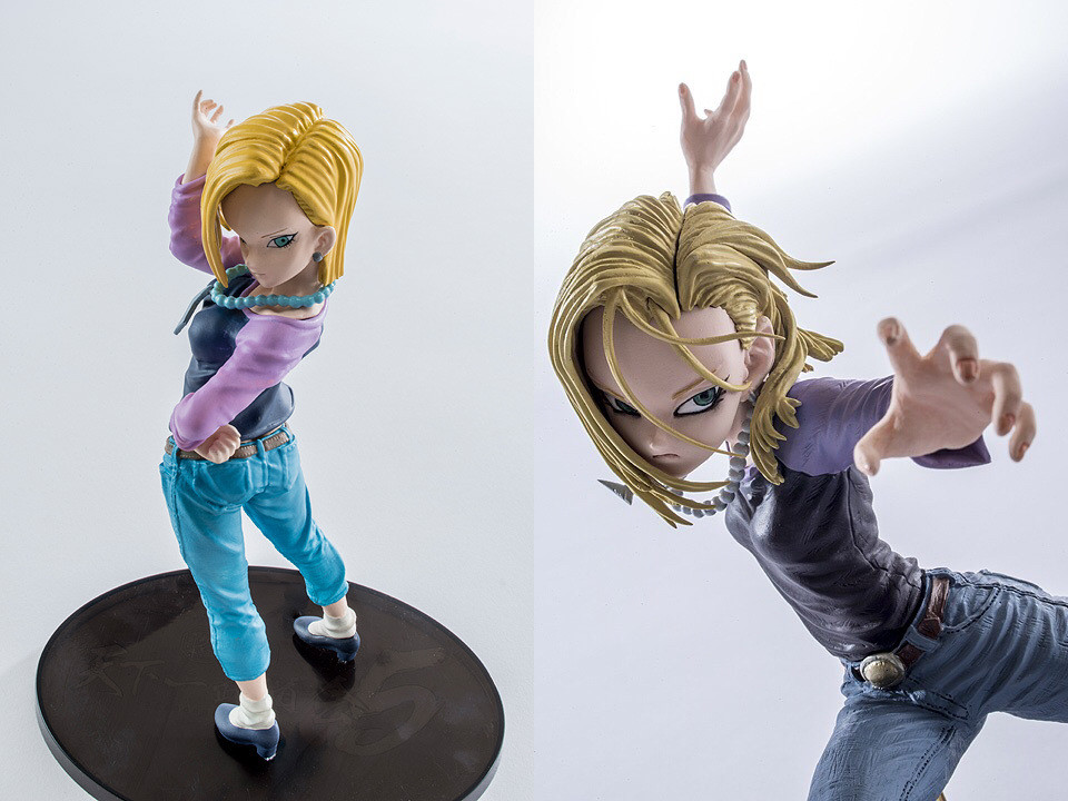 Banpresto Android 18 Dragon Ball Lazuli Action Figures 17cm Dragonball PVC Model font b Toys b