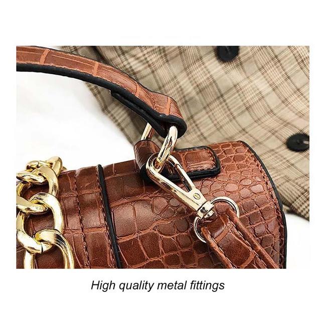 Women Luxury handbag shoulder chain cross body leather