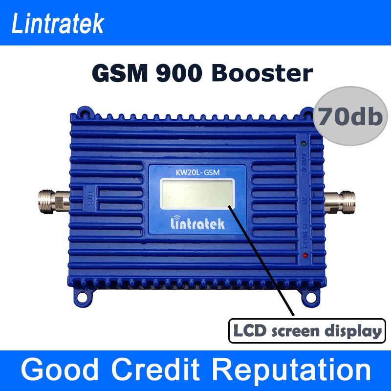 Free Shipping LCD Display GSM 900mhz Signal Repeater 70db 20dBm Repetidor GSM 900 mhz Cell Phone