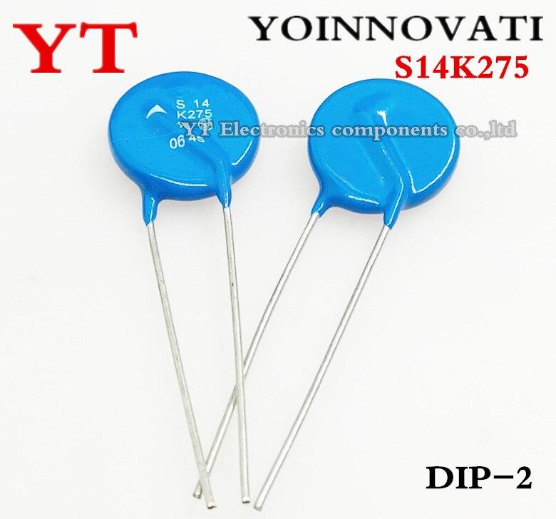 Free Shipping 20pcs/lot S14K275 Varistor S14K275 14K275 K275