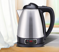 food grade stainless steel automatic cut off temperature electric heating kettle Safety Auto Off Function