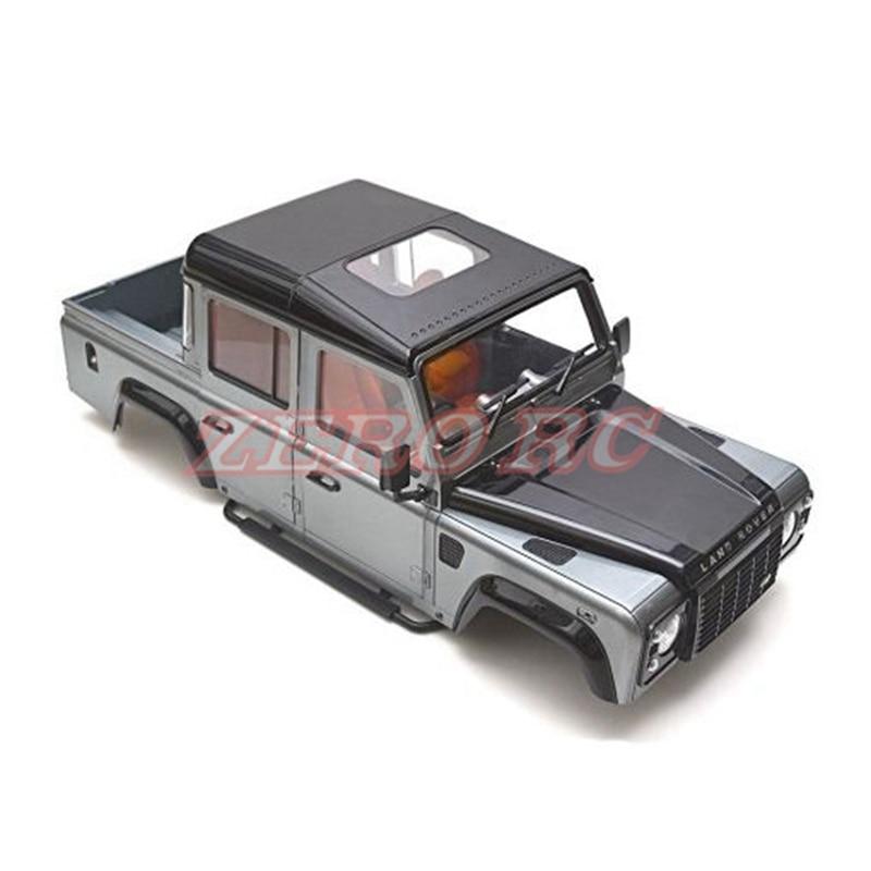 1/10 RC escala D110 de plástico duro de la camioneta cuerpo Kit de carcasa de 334mm de distancia entre ejes para RC4WD D110 chasis-in Partes y accesorios from Juguetes y pasatiempos    1