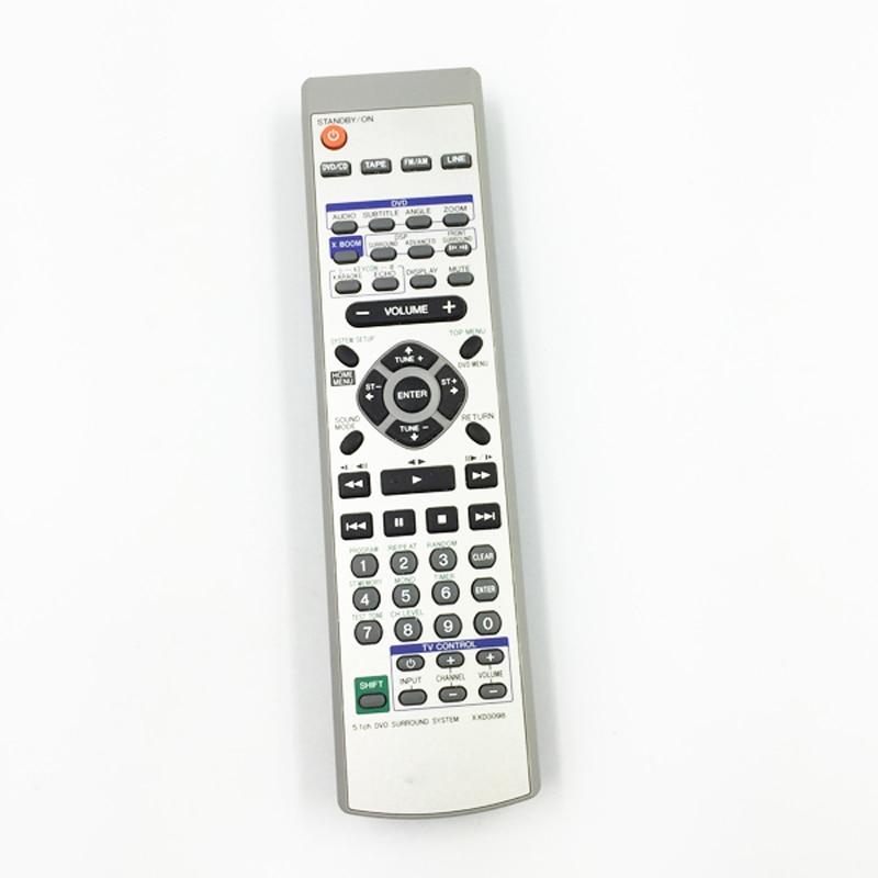 Бывший в употреблении пульт дистанционного управления для Pioneer XXD3098, фотосессия, DVD-ресивер, фотография