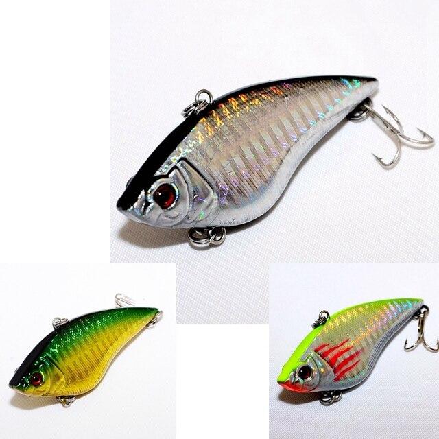 3 pièces Couleur Japon qualité supérieure leurre de Pêche À La Mouche ensemble Vib Appâts Artificiels Leurres pour La Pêche POISSON Wobbler 7 cm 16.5g