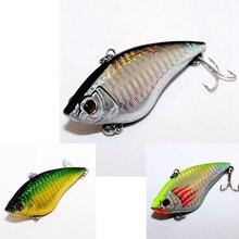 3ピース色日本トップグレードフライ釣りルアーセットvib人工餌ルアー用釣りタックル魚ワブラー7センチ16.5グラム