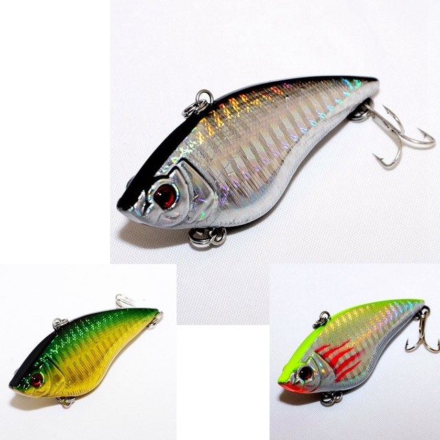 3PCS Color Japan top grade Fly Fishing lure set Vib Artificial Bait Lures for Fishing tackle FISH Wobbler 7cm 16.5g
