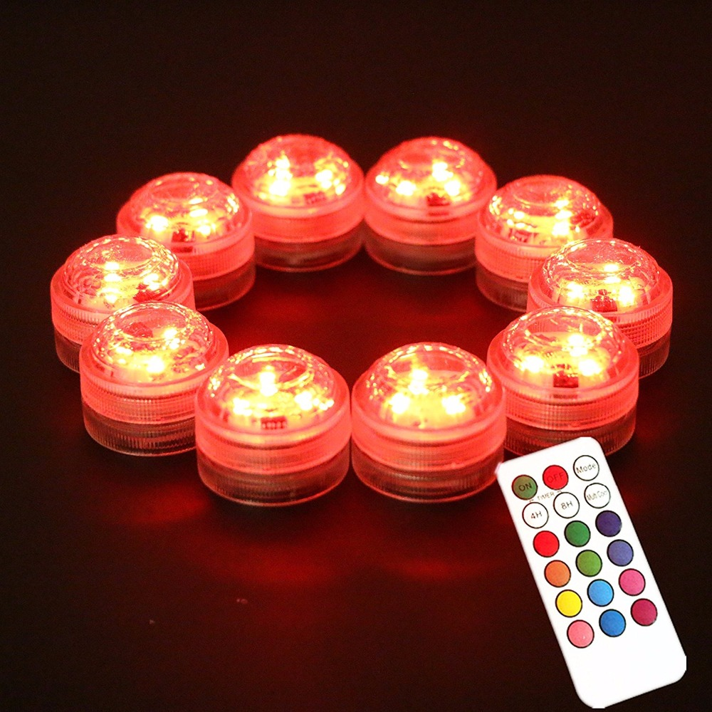 20pcs Lot Mini Waterproof Submersible Led Small Battery Operated Led Lights For Paper Lantern Party Wedding Decoration Mariage