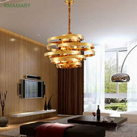LED pendant light Postmodern light luxury stainless steel art design tornado living room dining room villa pendant lamp 110 220V