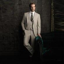 Костюм для мужчин костюм свадьбы смокинги 3 шт (куртка + брюки