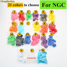 ChengHaoRan 21 colors Analog Joystick controller Button  Grip Stick Cap For NGC Controller Y X A B Z Buttons for Gamecube