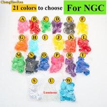 ChengHaoRan 21 צבעים אנלוגי ג ויסטיק בקר כפתור אחיזת מקל כובע לngc בקר Y X ABZ כפתורים עבור gamecube