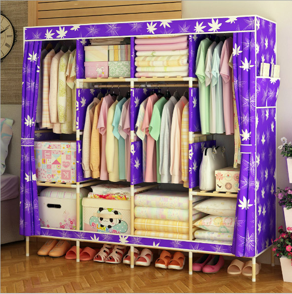 latest wooden wardrobe   length 170cmlatest wooden wardrobe   length 170cm
