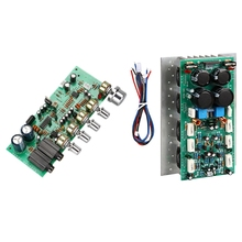 Suitable For Sanken1494 / 3858 Hifi Audio Amplifier Board 450W + 450W Stereo Amp Mono 800W High Power Amplifier Board With Tun new tda1514a hifi power amplifier board kit mono 40w audio amplifier board