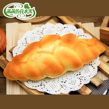 Quality artificial bread decorative pattern bag PU eco-friendly material belt fragrance artificial bread super soft cake food cinnamon cider decorative fragrance 1 3lb bag