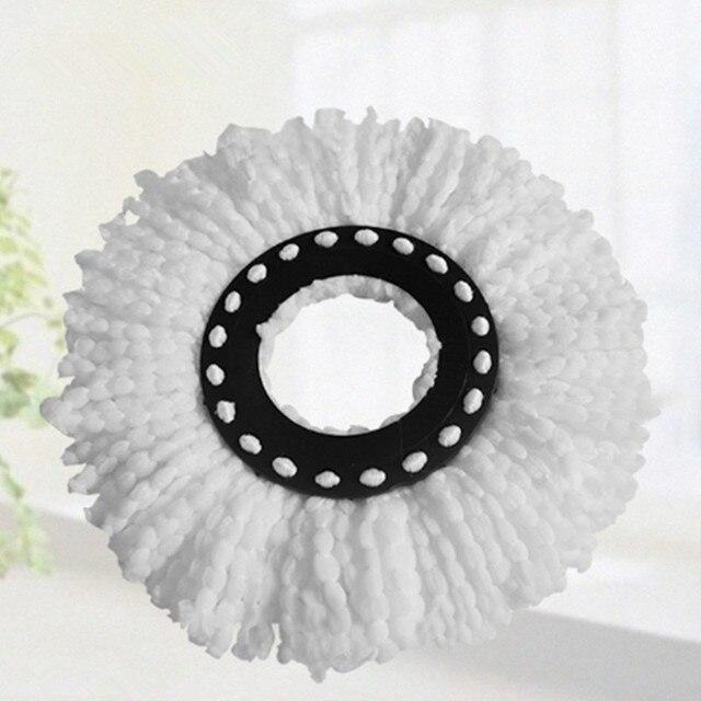 360 degree rotating spinning magic spin mop microfiber heads mop floor mopheads replacement fiber mop heads