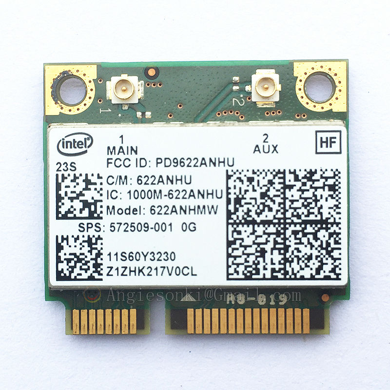 US $10 99 |6200AGN DUAL BAND 2 4/5Ghz WiFi CARD 60Y3231/ 572509 001 for  Lenovo Thinkpad X200 X200S X201 X201i X201s X201 T400 T500 W500 HP-in  Network