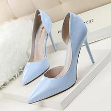 Brand Shoes Woman High Heels Pumps Thin Heels Stilleto Sexy Women Shoes Pointed Toe Party Wedding Shoes Office Lady Nude Shoes
