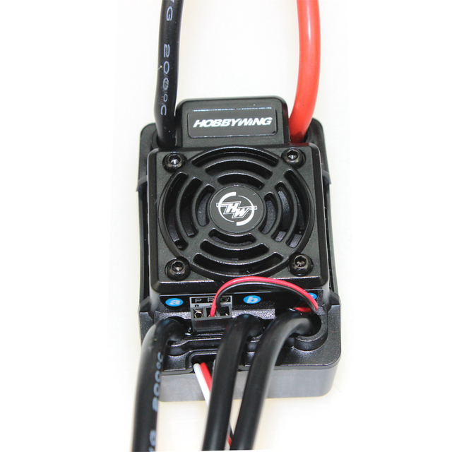 Hobbywing  EZRUN WP SC8 120A  Waterproof Speed Controller Brushless ESC for RC Car Short Truck  F17814