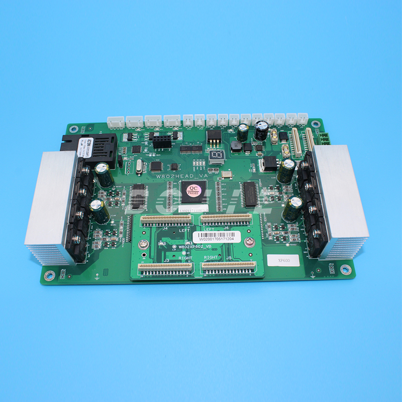 цена Printhead board carriage board for UV flatbed printer VA printer for epson XP600 and TX800 printhead